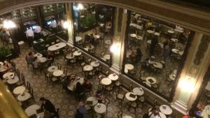 Cafeteria Colombo - Der Blick von der Belle Etage