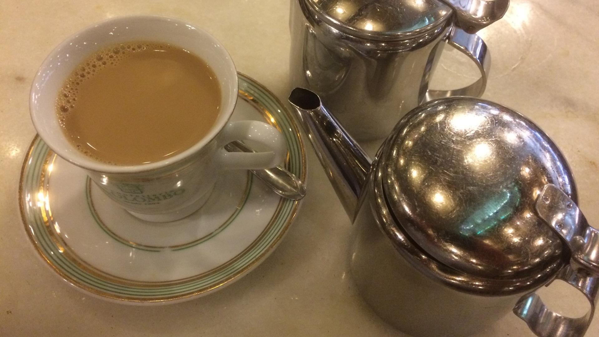 Confeteria Colombo - Kaffee mit Stil für weniger als 3 Euro