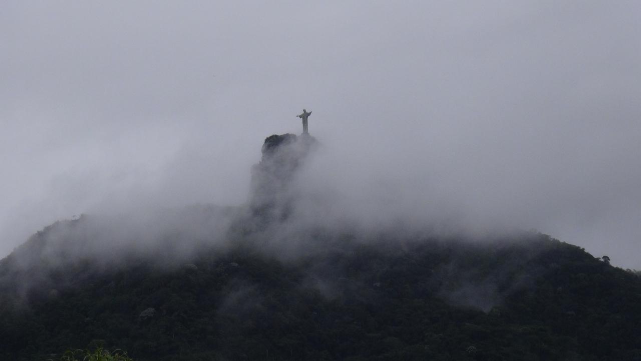 Corcovado im Nebel