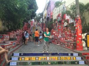 Touristen Hotspot Escadaria Seleron