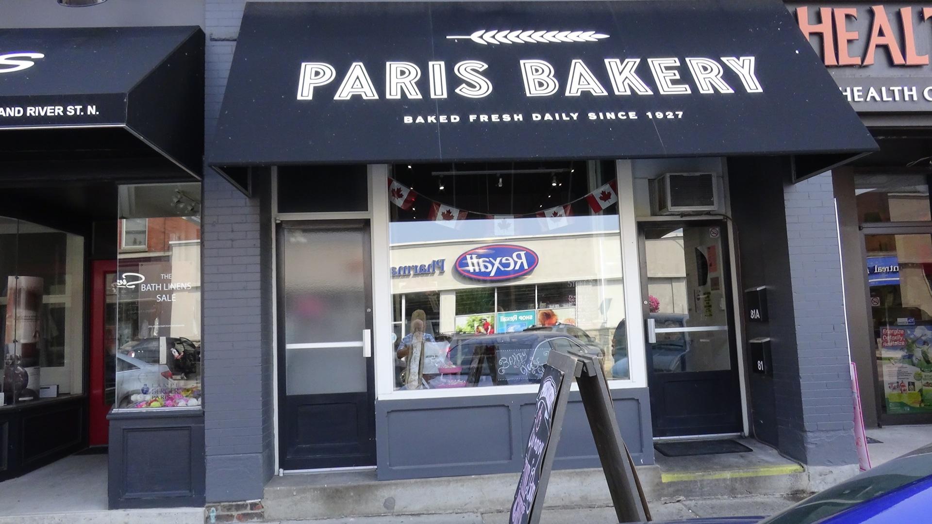 Paris Bakery (Paris Ontario)