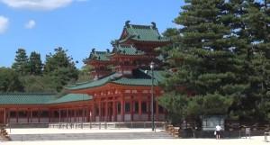 Kyoto: Heian Schrein (1895) - Schinto Schrein