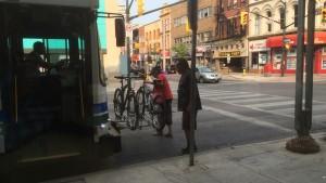 London (Ontario) Busservice für Radfahrer