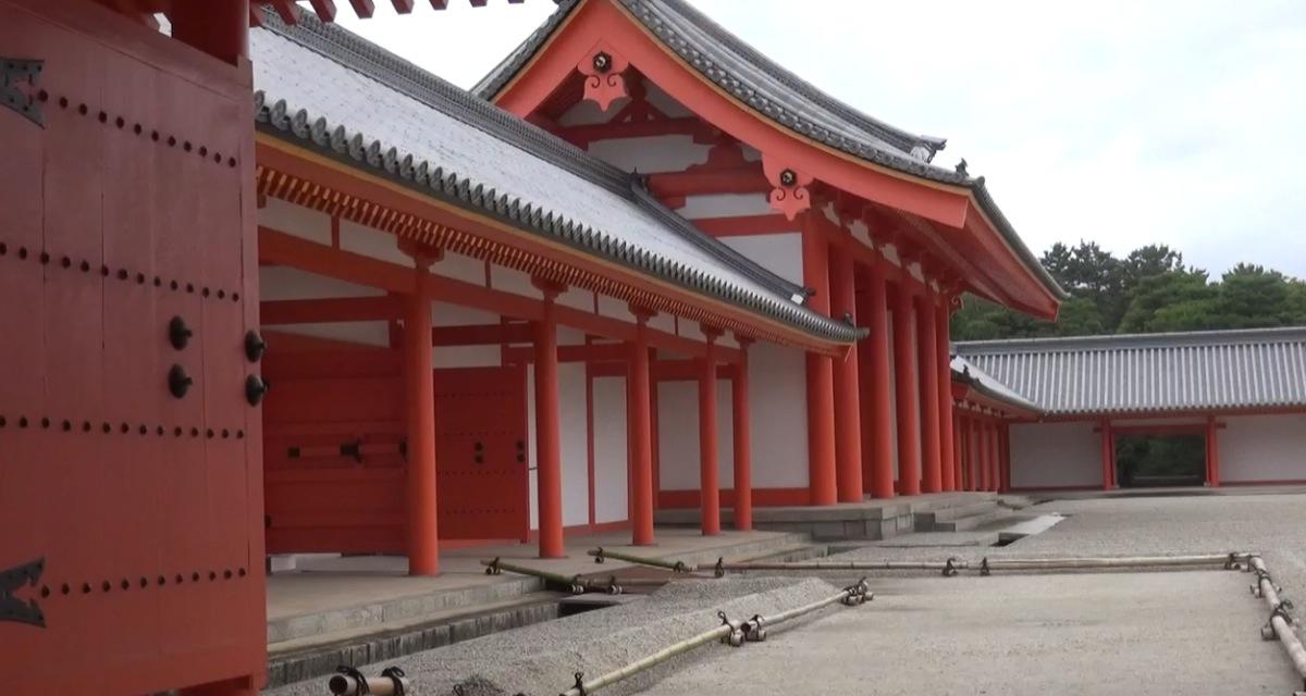 Nikka-Mon Tor zum Innenhof