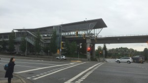 Vancouver - Skytrain Station in Burnaby