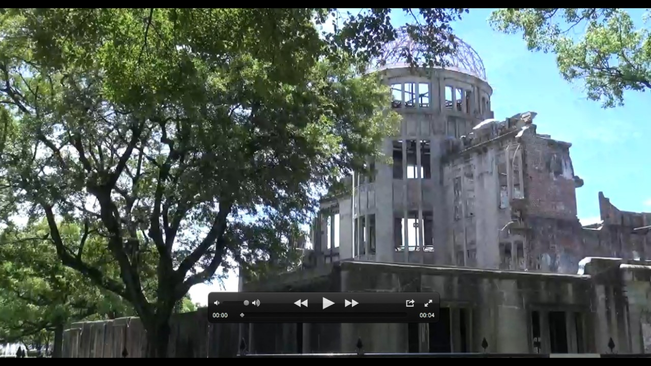 Memorial Site A-Bomb Dome Hiroshima