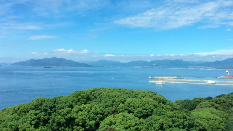 westlicher Teil der Bucht von Hiroshima