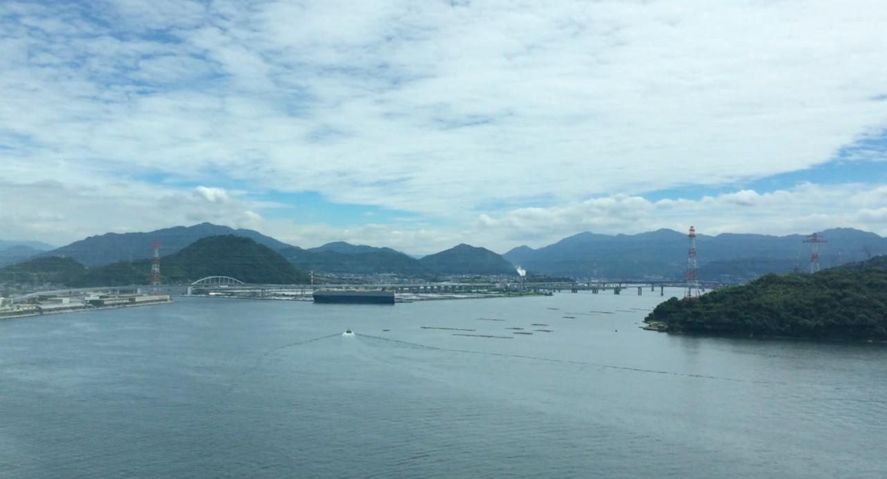 östlicher Teil der Bucht von Hiroshima