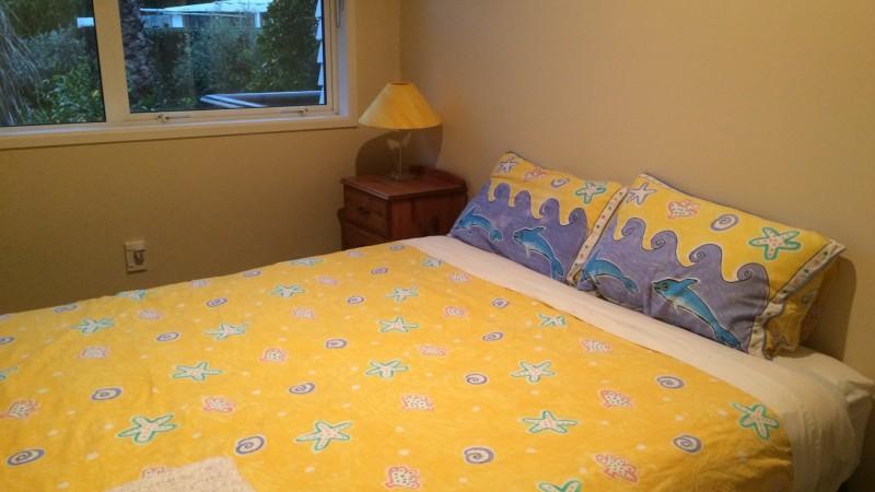 gemütliches Zimmer mit sehr bequemen Bett