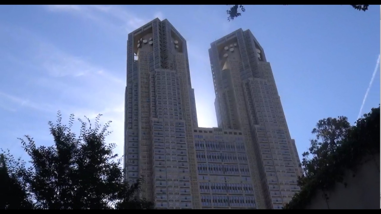 The Tokyo Metropolitan Government Building is ranking 3rd in Tokyo with an altitude of 243,3 m