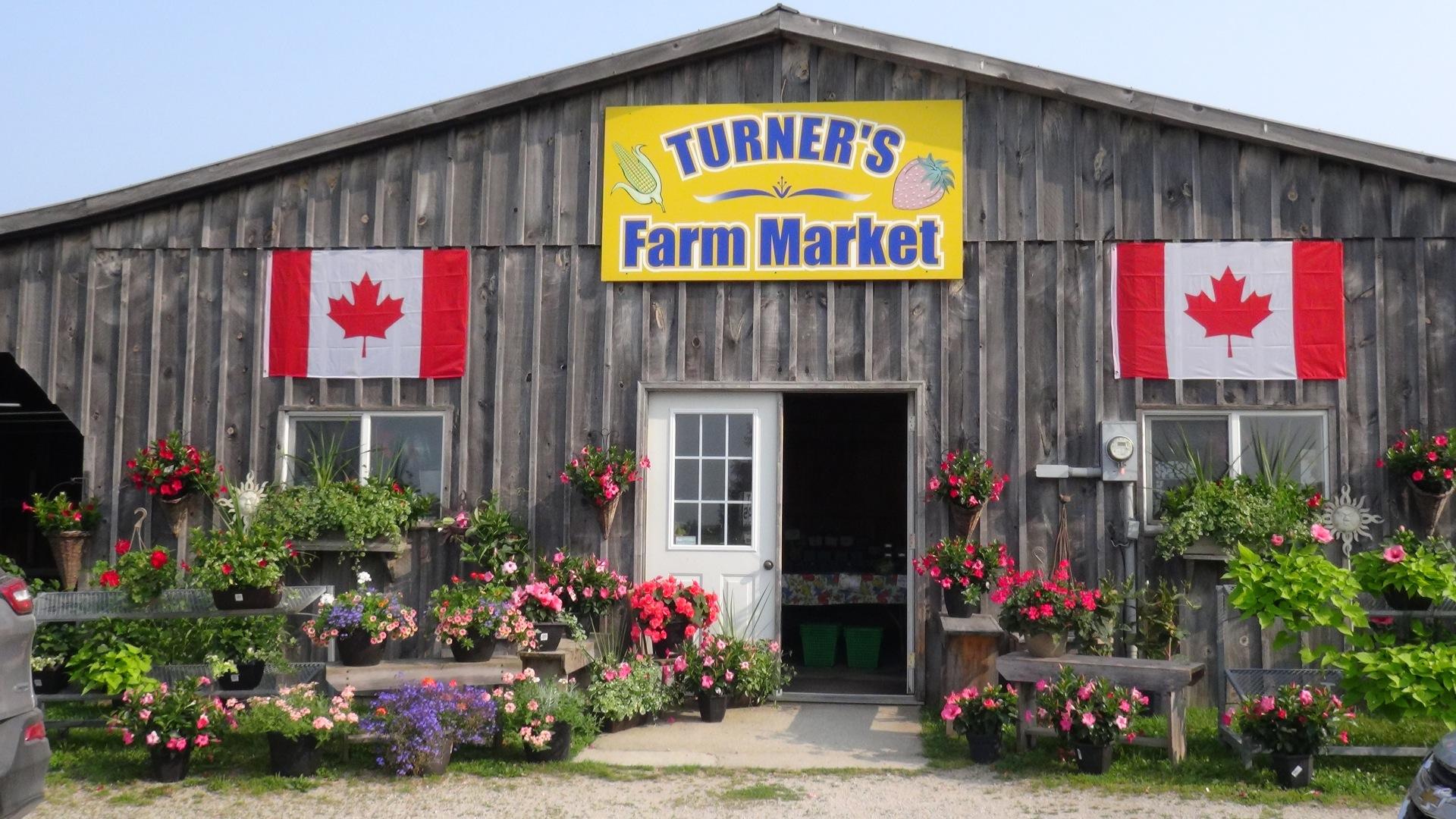 Farm Market im ländlichen Ontario