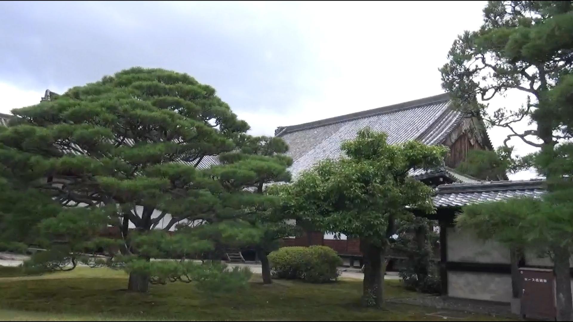 Der Ninomaru-Palast in der Burg Nijō