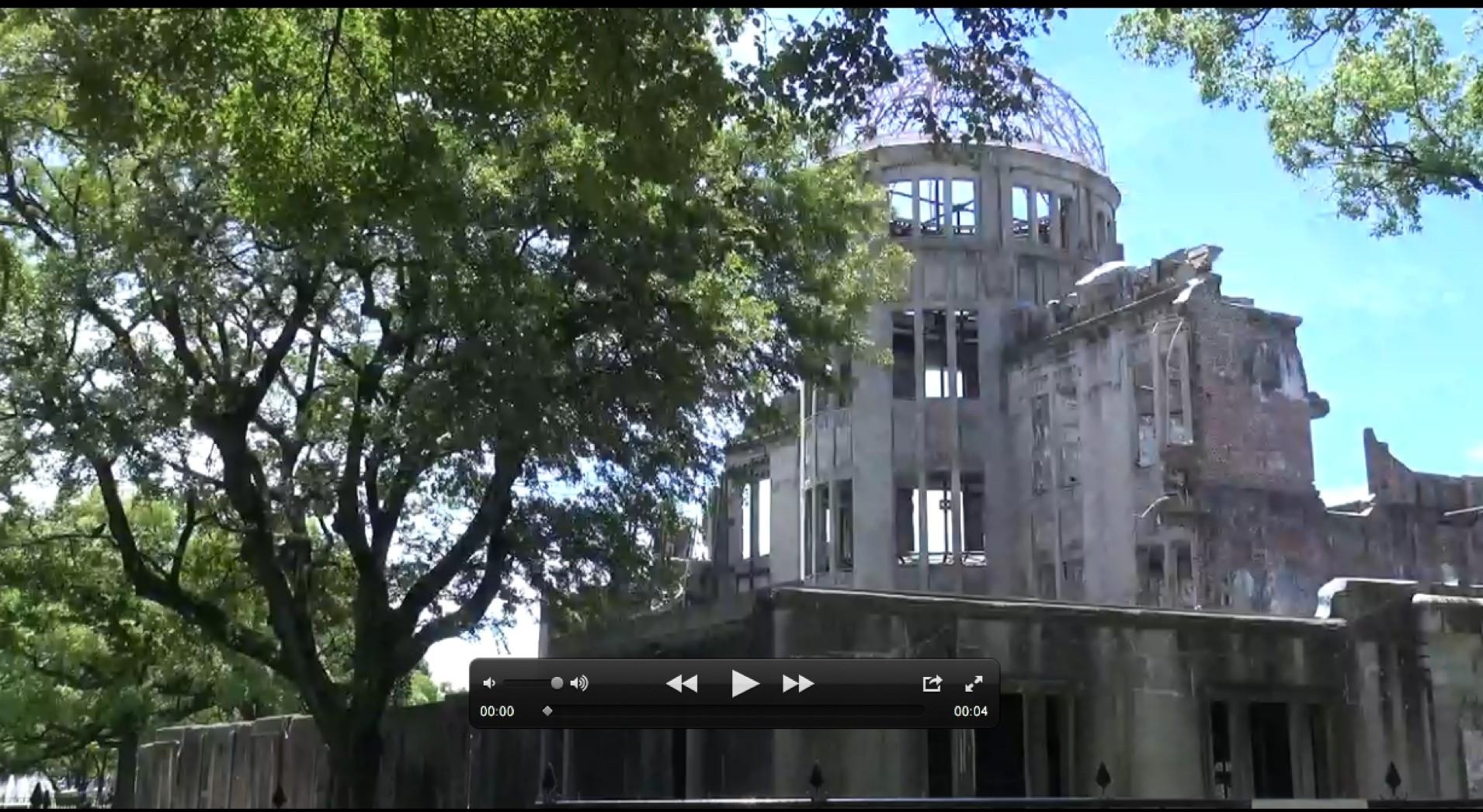 Gedenkstätte A-Bomb Dome Hiroshima