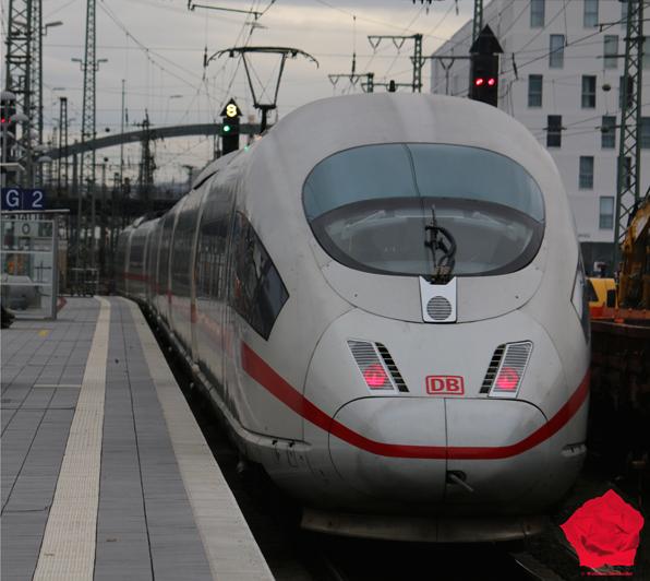 ICE Train German Rail